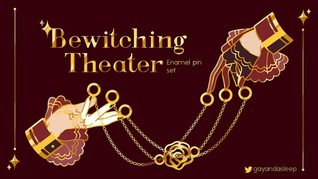Bewitching Theater Enamel Pin Set