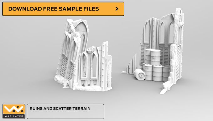 Download a free sample file on Thingiverse.