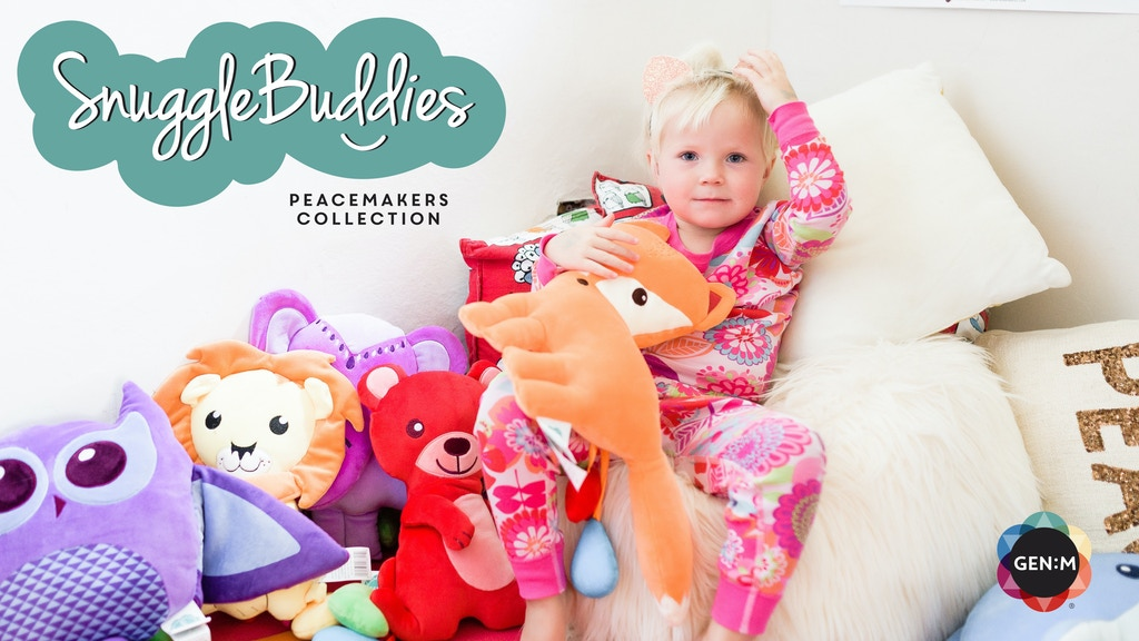 SnuggleBuddies: plush toys that teach kids about emotions