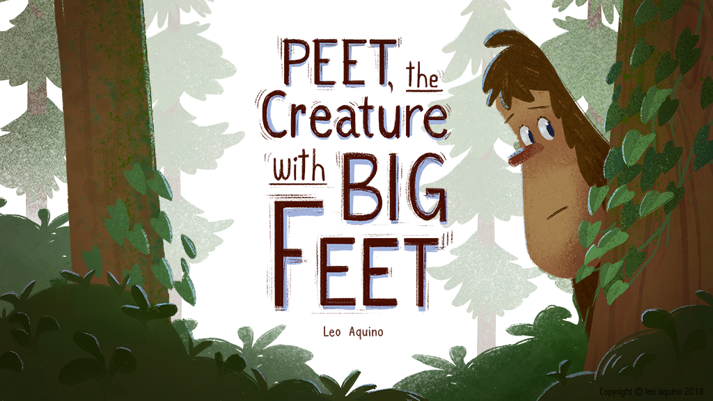 Peet, the Creature with Big Feet project video thumbnail