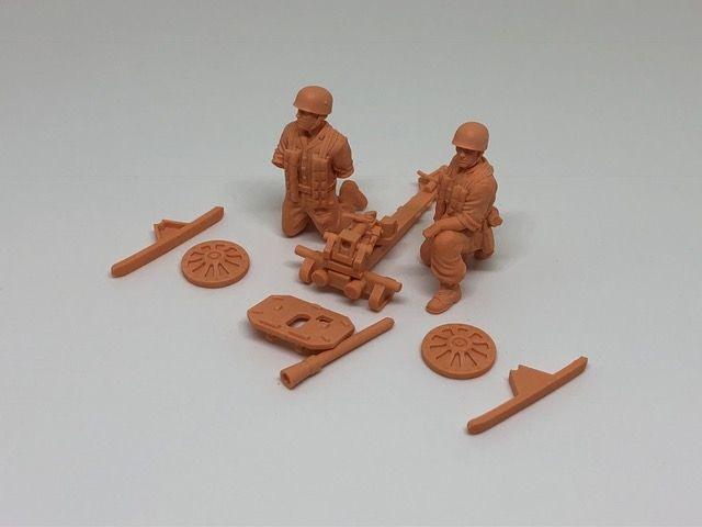 8,8 cm Püppchen Raketnwerfer with 2 Crewmen