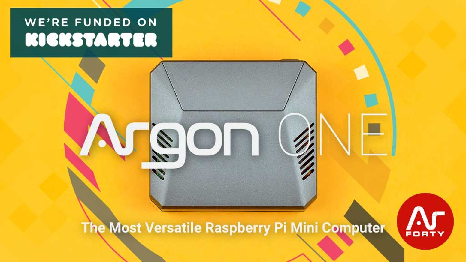 The most versatile mini computer powered by the most powerful Raspberry Pi 3 ever made.