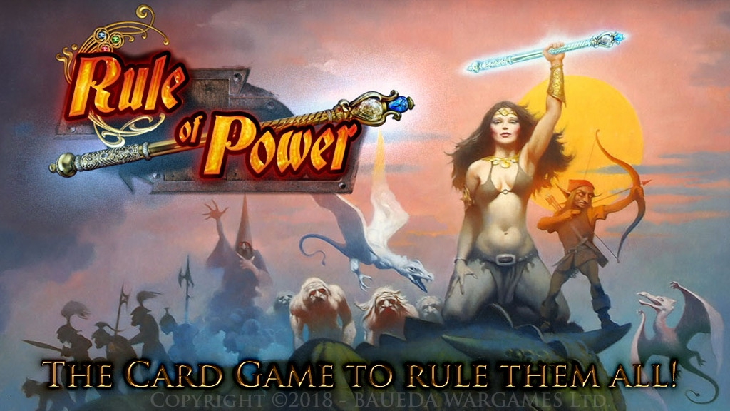Project image for RULE of POWER a fantastically illustrated fantasy card game! (Canceled)