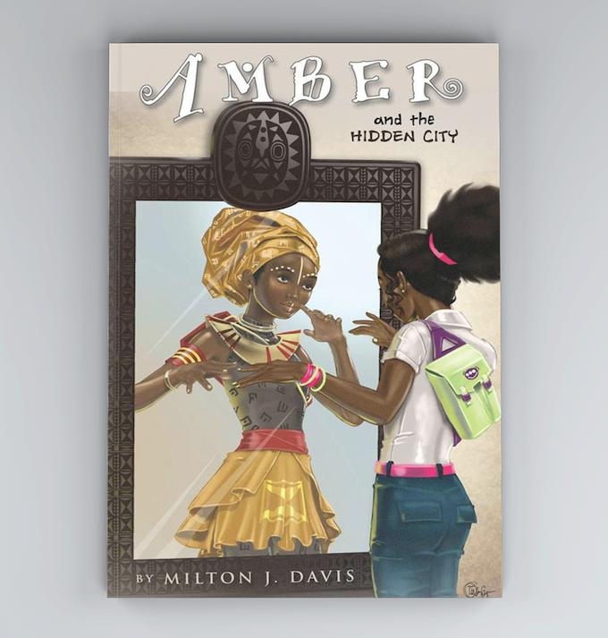 Amber and the hidden city novel.
