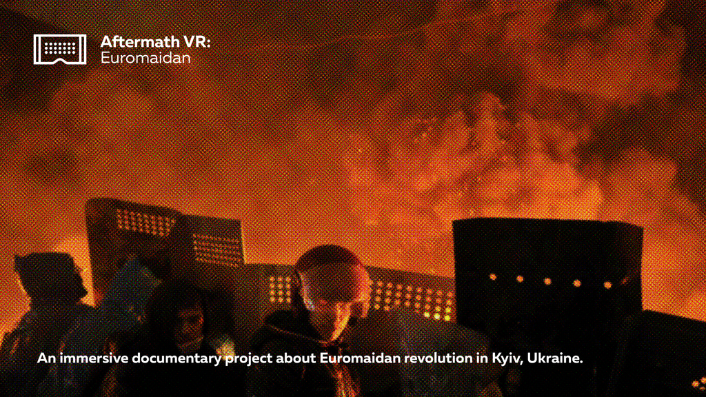 Aftermath VR: Euromaidan project video thumbnail