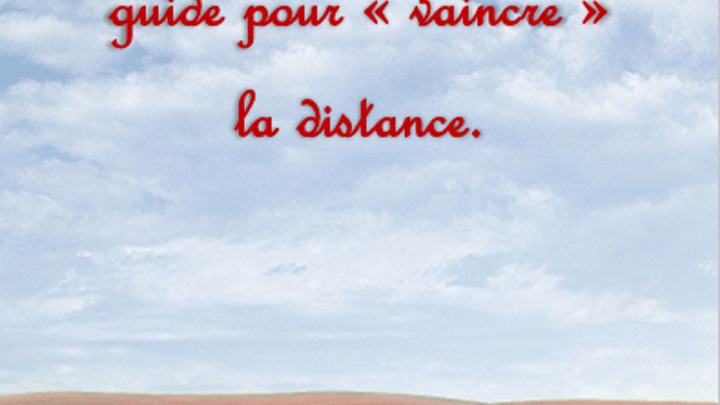 Guide Relation à Distance Long Distance Relationship Guide By