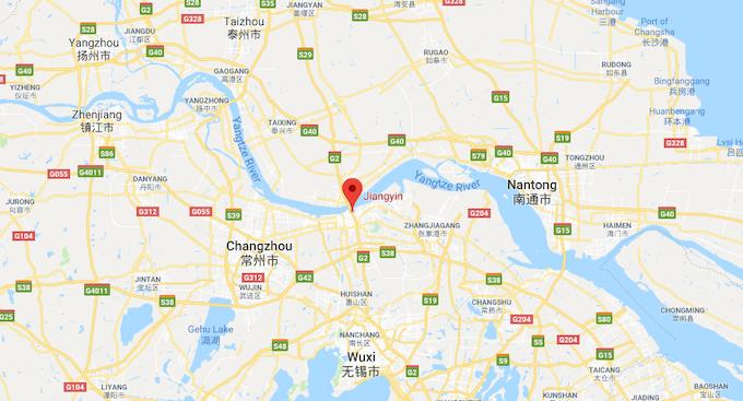 Manufaactured Ethically in Jiangyin, Jiangsu