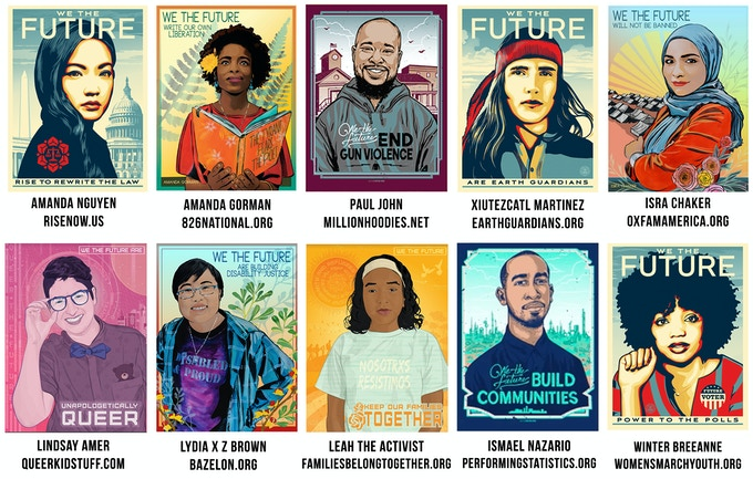 Amplifier collaborated with 10 grassroots organizations to create this series of portraits.  Scroll down below the rewards to learn about their work!