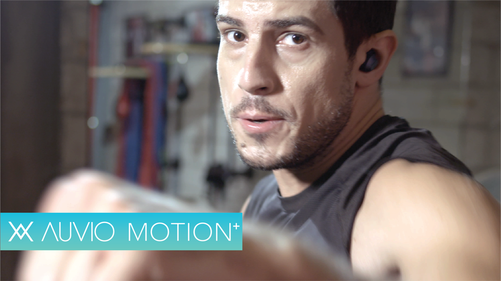 AUVIO MOTION+ : It's time for better sound and perfect fit