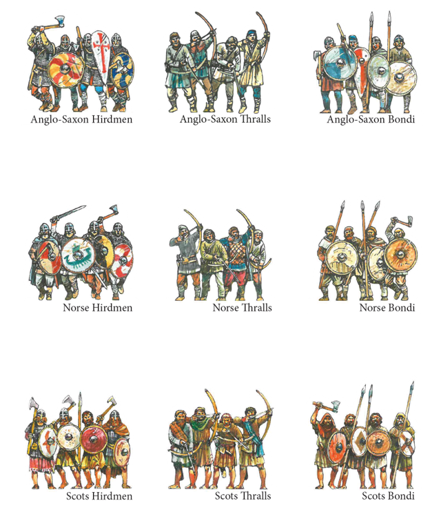 Anglo-Saxon, Norse, and Scottish armies - you'll get all three when you back our campaign!