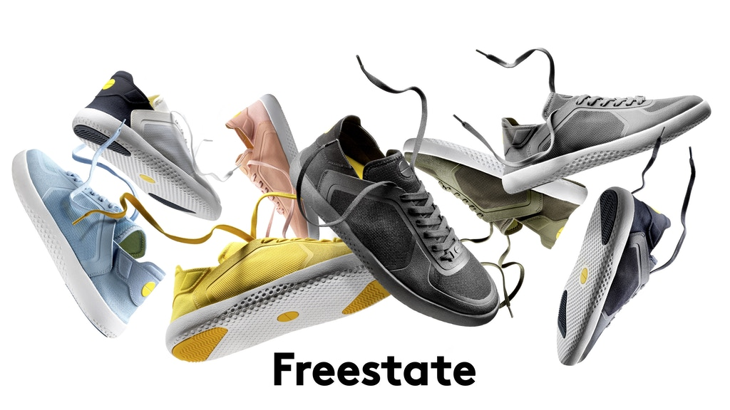 Freestate - Travel shoes have never looked this good. project video thumbnail