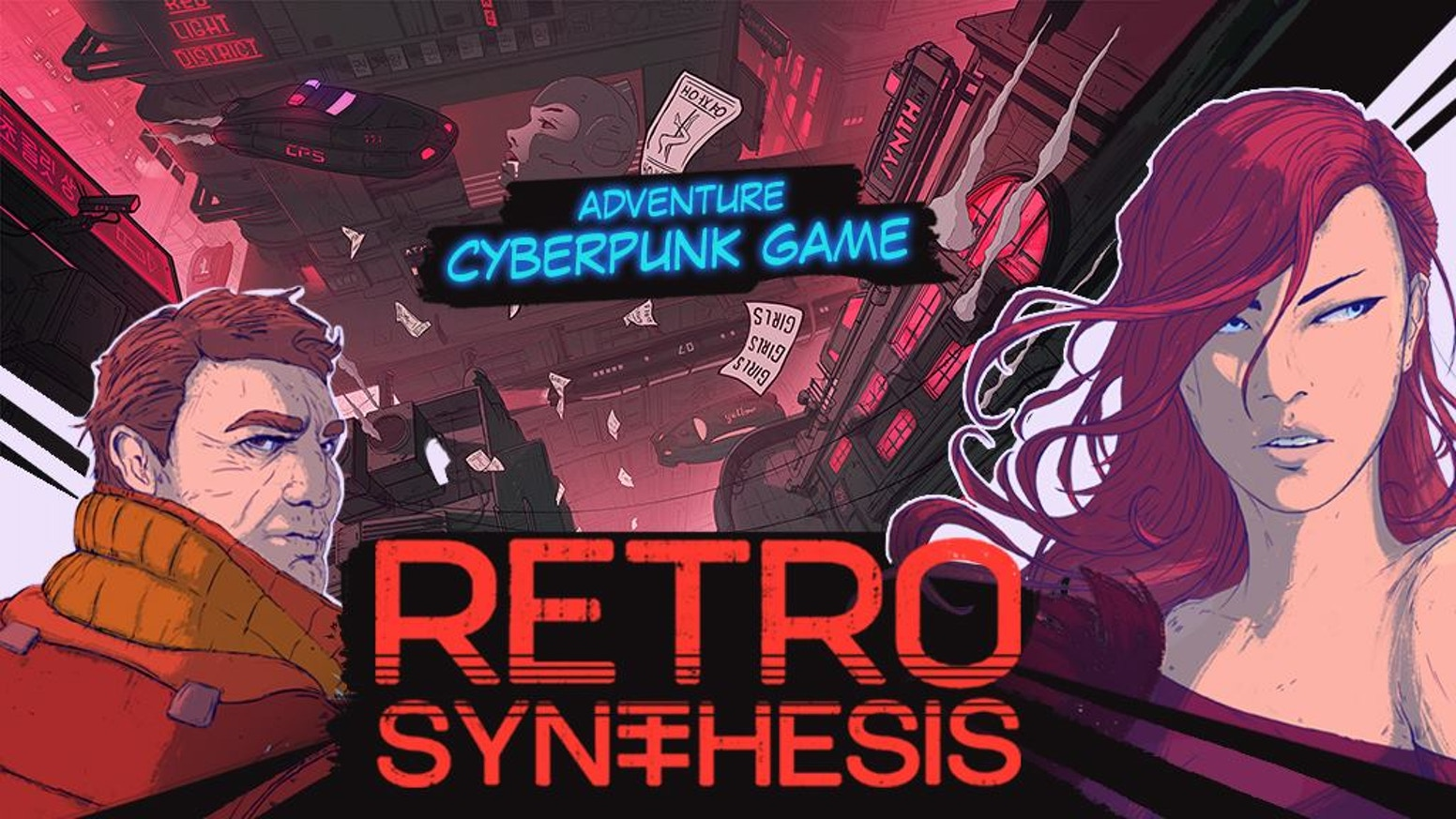 Retro Synthesis - adventure, cyberpunk game by PlayWay —Kickstarter