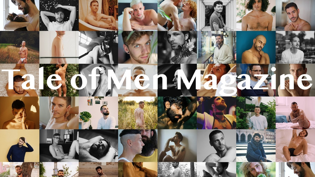 Tale of Men Magazine: Photographs & Stories of Men project video thumbnail