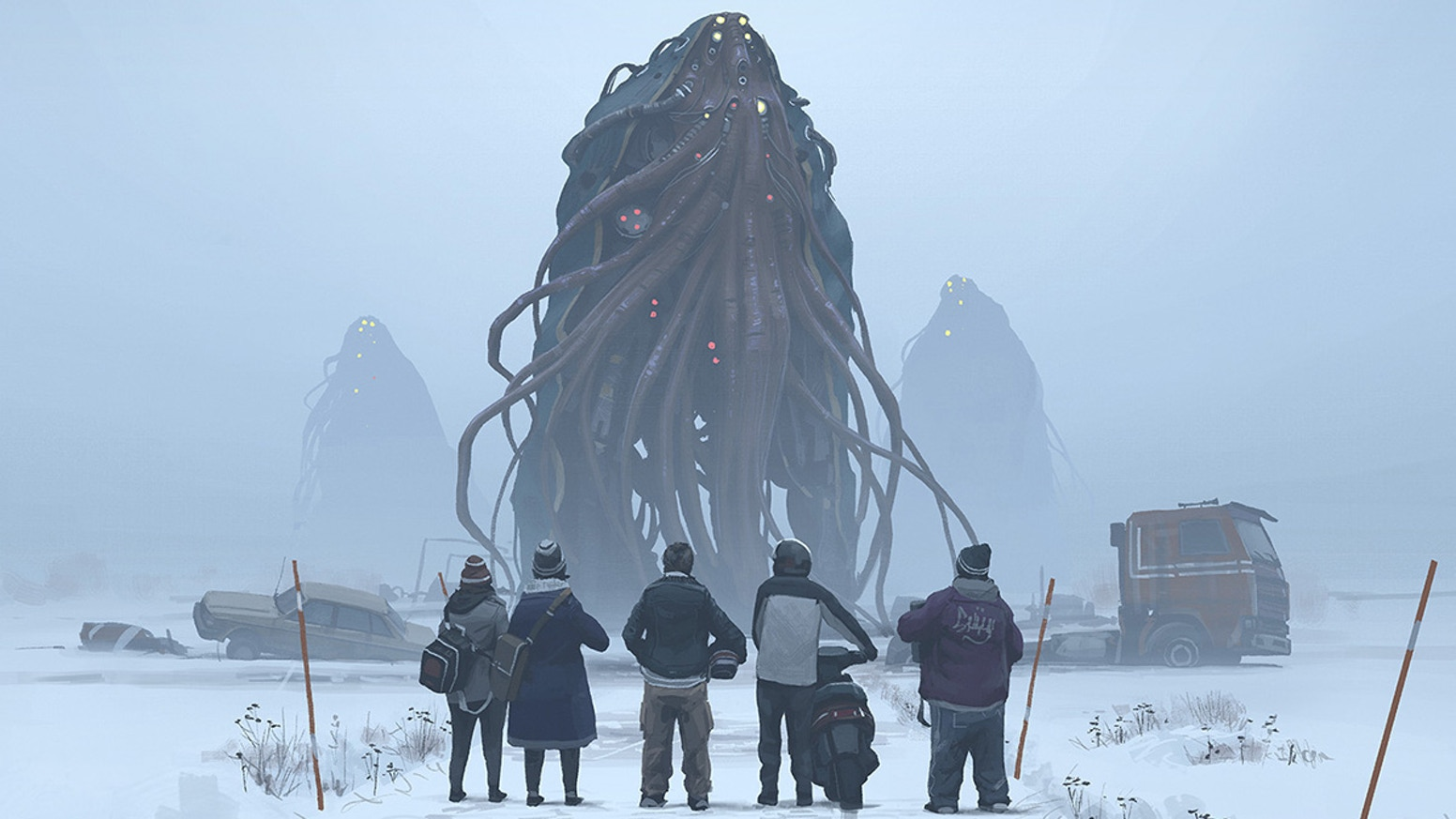 Return to Simon Stålenhag's world of the Loop in this new RPG. It's the '90s now, and things are different. This time, you can die.