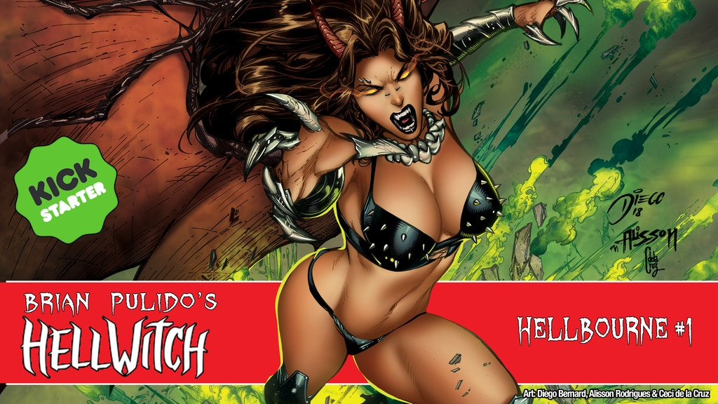 Brian Pulido's Newest: Hellwitch: Hellbourne #1! project video thumbnail