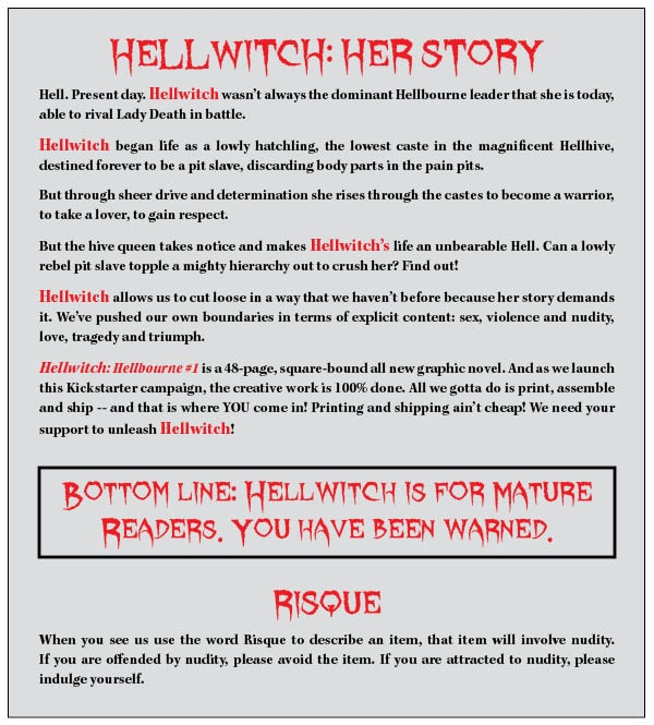 Brian Pulido's Newest: Hellwitch: Hellbourne #1! by Brian Pulido