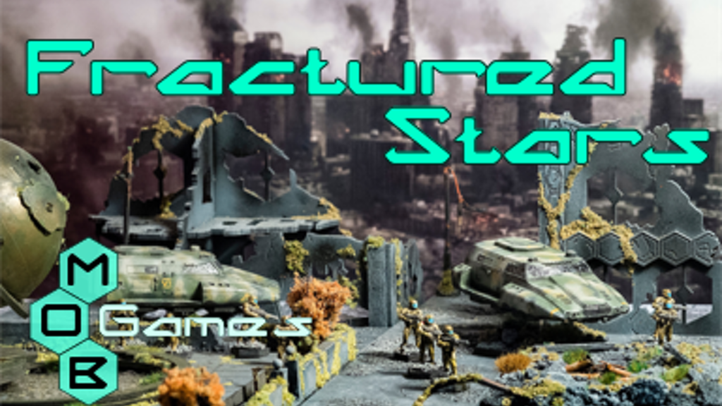Fractured Stars - A new 20mm scale science fiction Wargame