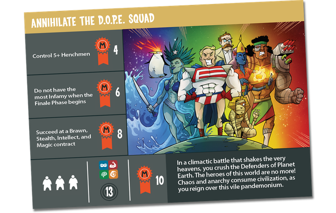 EGGclusive Finale card with each OVERLORD pledge level. This will also be available as an add-on and includes 2 copies of the card (1 signed and one not)..