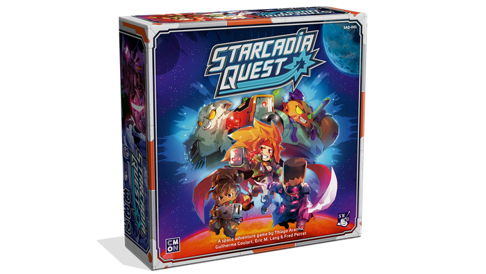 Lead your heroic Crew in an action-packed space adventure, blasting alien monsters and competing Crews through a fast-paced campaign!