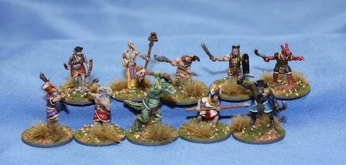 Egyptian Fantasy Heroes