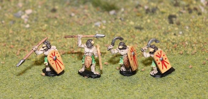 Sons of Horus Spears and Khopesh