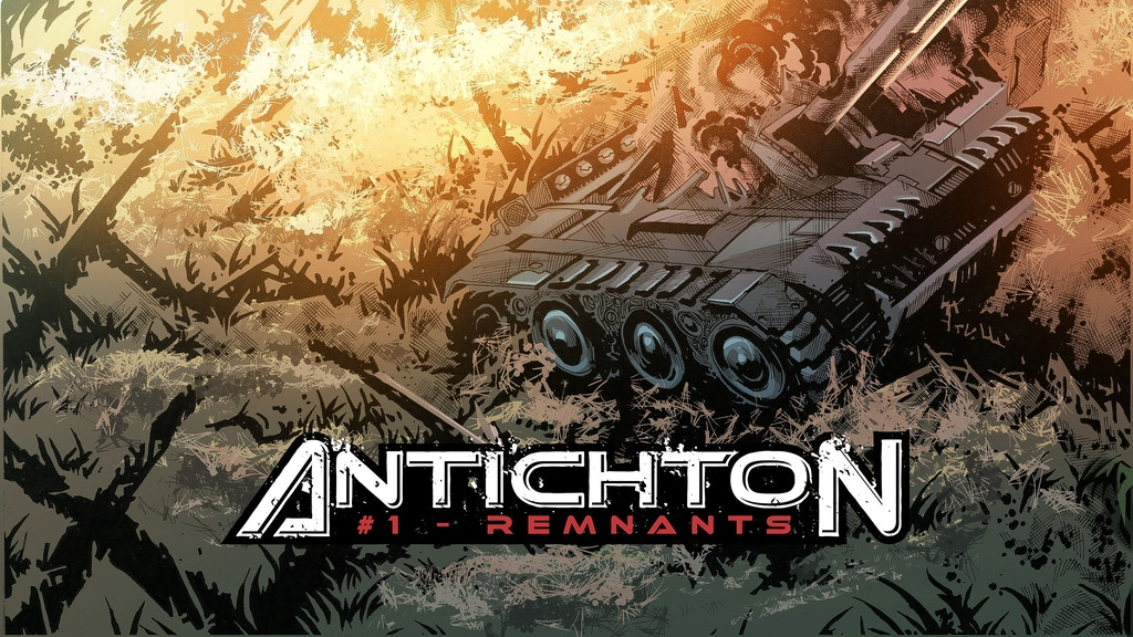 Project image for Antichton: Remnants, First Issue