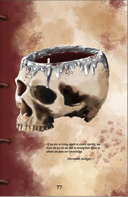 Drinking from the skull of your enemy is back!