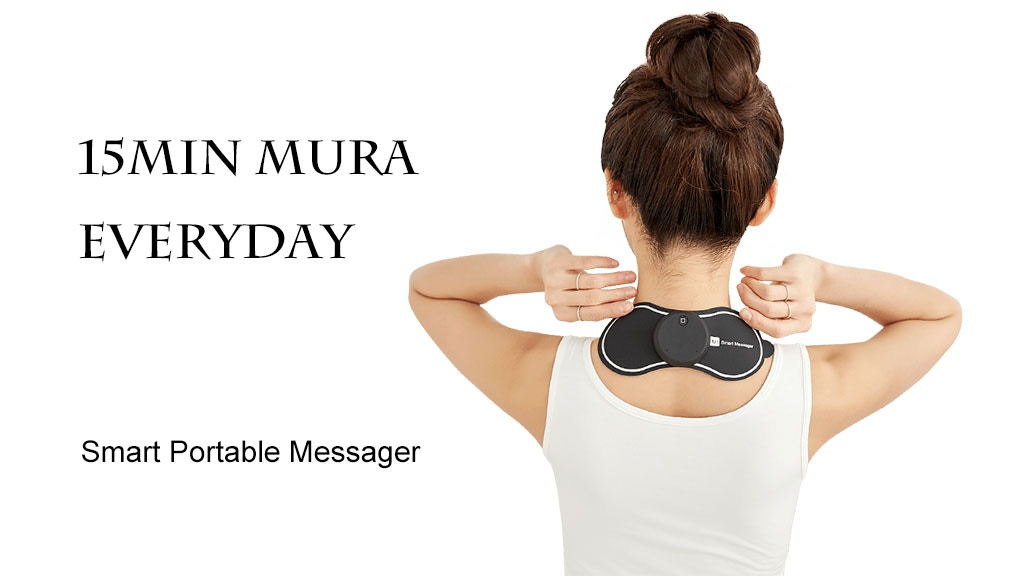 Mura: Portable smart massager for your neck relief anywhere