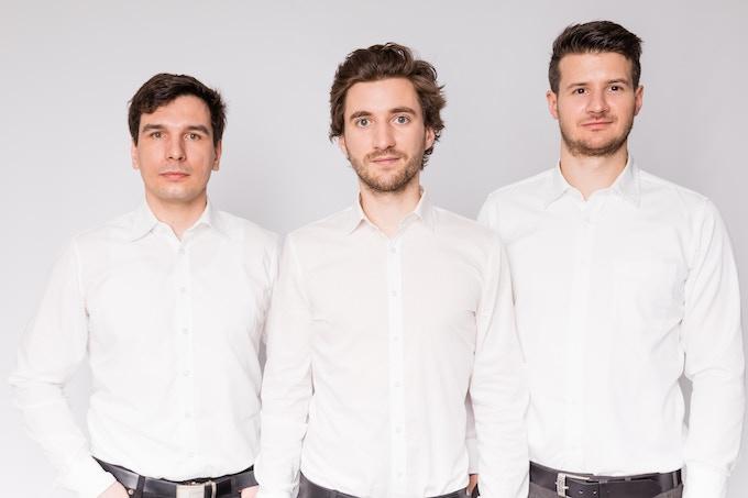 Von links nach rechts: Stephan Weinberger, Christoph Grimmer und Florian Gebetsroither