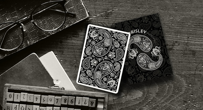 Paisley Playing Cards - with hidden marking system