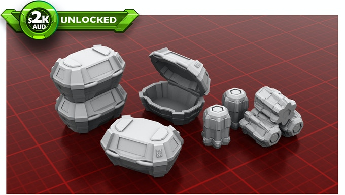 Scatter Containers