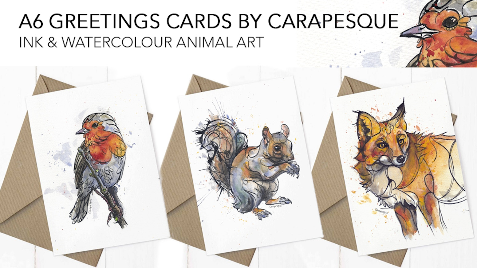 Contour Art Christmas Greetings Cards by Carapesque