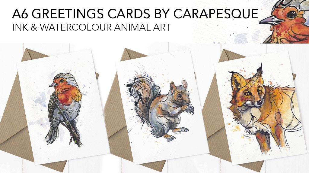 Contour Art Christmas Greetings Cards by Carapesque project video thumbnail