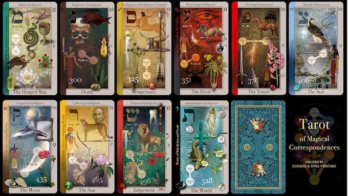 Tarot of Magical Correspondences by Eugene Vinitski