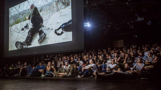 "A ""Koudelka"" Screening in Warsaw, Poland © Plac Defilad"