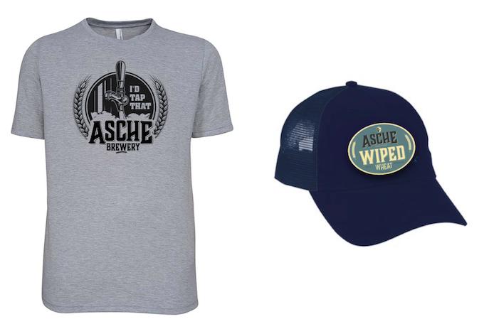 $100 - Tapped Asche Tee & Trucker Hat