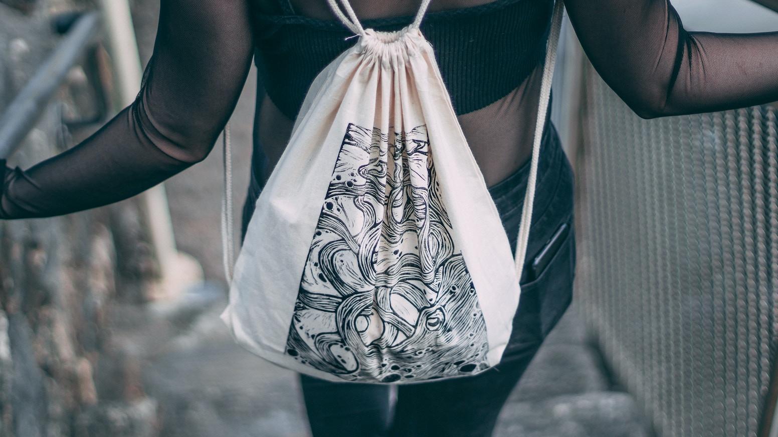 4e50ec99b2 Quickstarter  Kraken - Hand Printed Bags by Holly Richards — Kickstarter