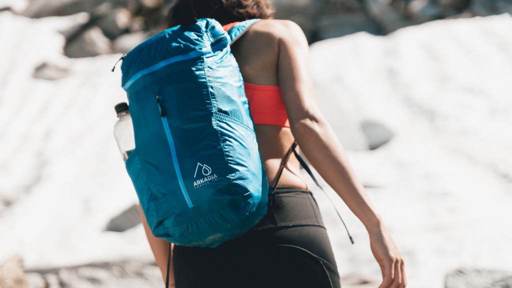 The Alta 21 | Packable Multi-Use Backpack + 3L Hip Pack