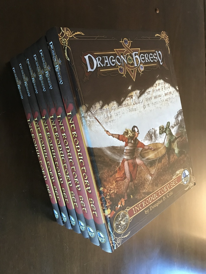 Explore and conquer in a Norse-inspired land with Dragon Heresy, with modified 5E rules. Secure your place in the sagas, or die trying!
