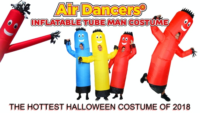 Air Dancer® inflatable tube man wearable inflatable costume