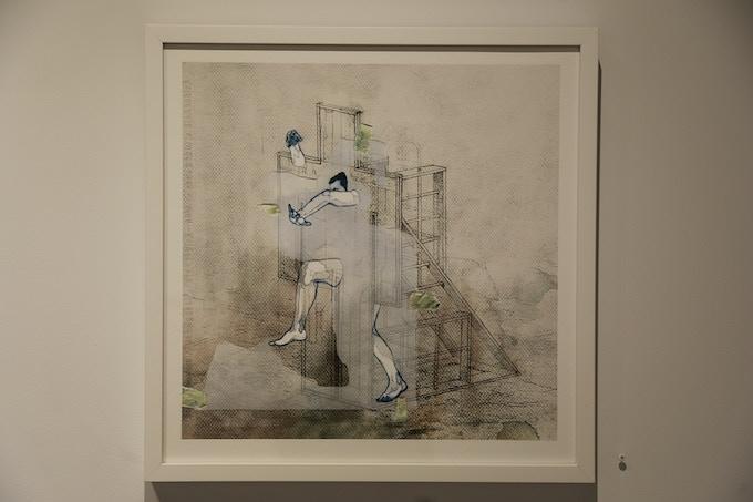"""DANIEL MUÑOZ (collaboration with Devendra Banhart) """"LA BAÑERITA"""" (edition of 1)"""