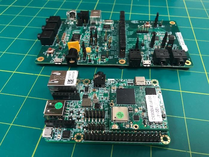 PicoSom development kit and the new DSP development kit