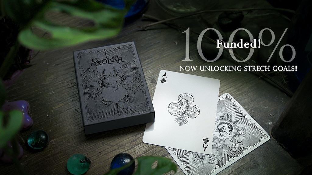 Axolotl Playing Cards project video thumbnail