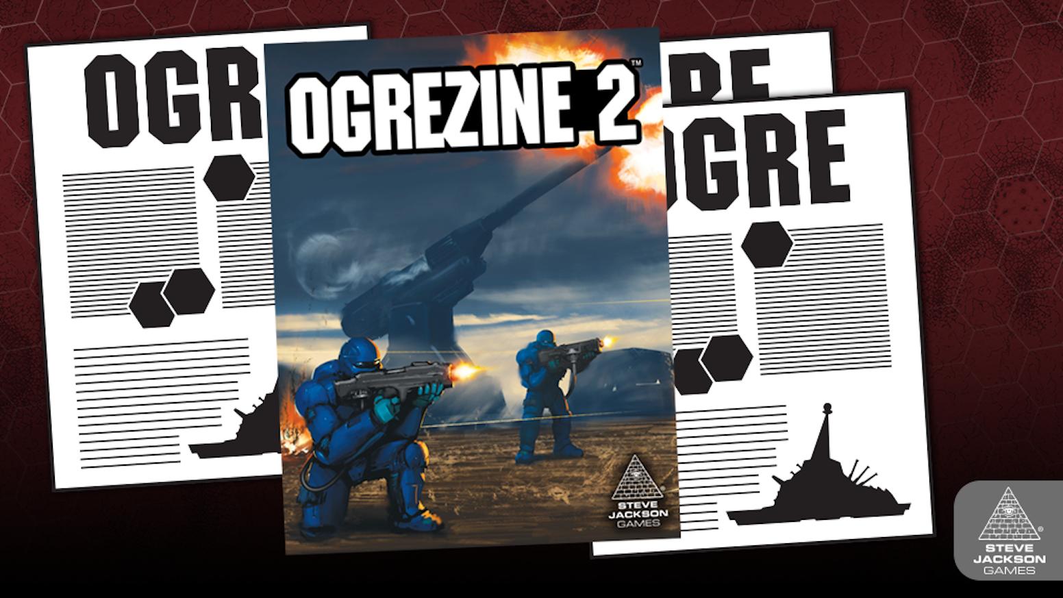 Ogrezine 2 - The Ogre Magazine by Steve Jackson Games