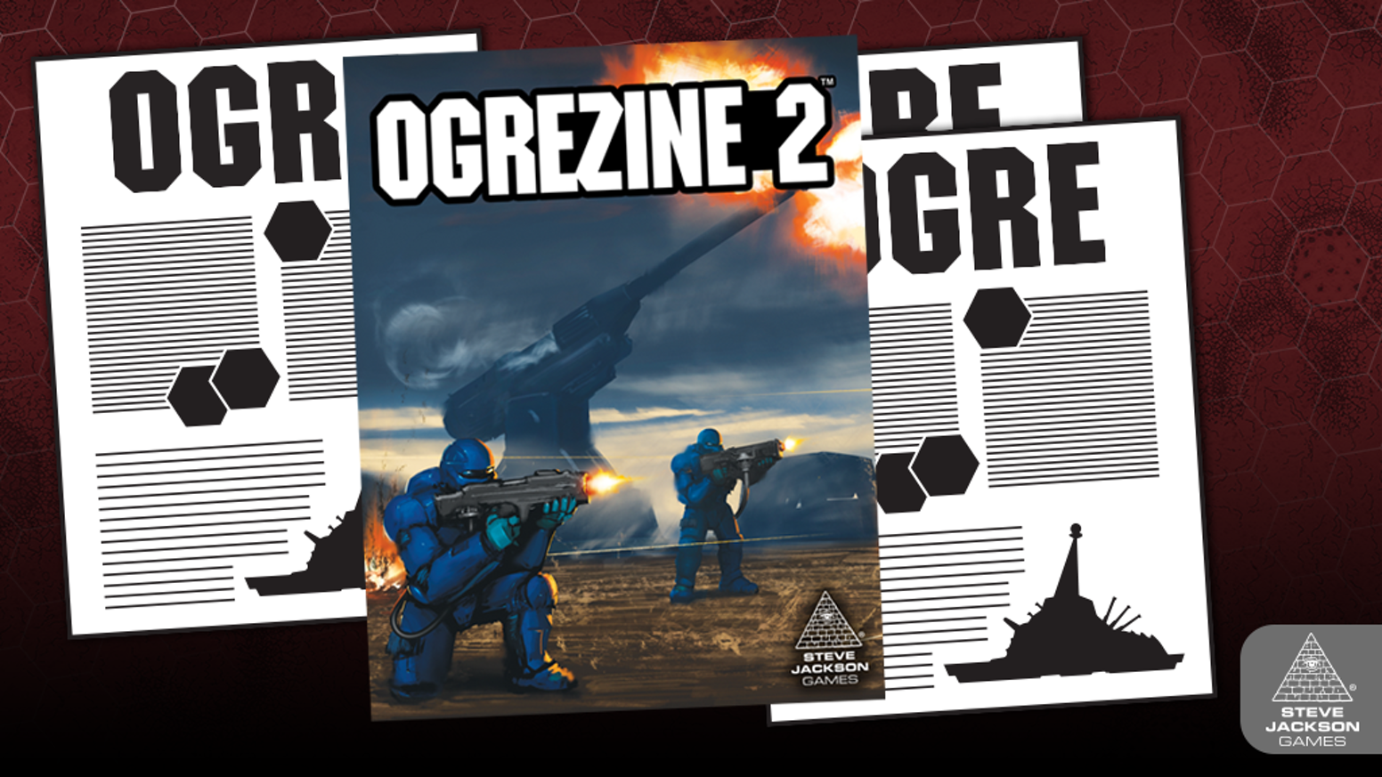 Ogrezine is back for a second collection of Ogre articles curated by line editor Drew Metzger.