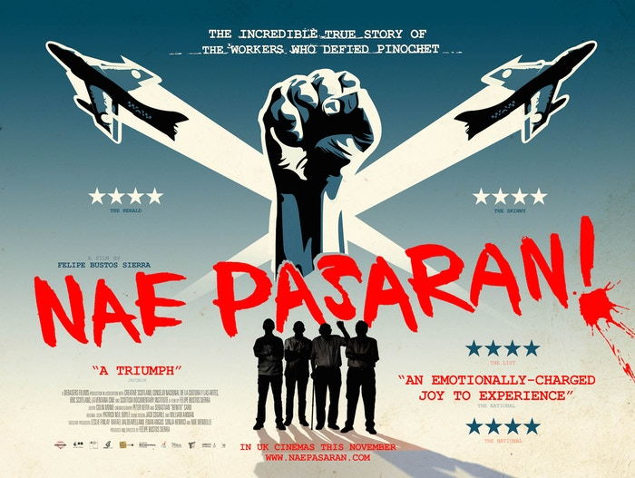 A documentary about the Scottish factory workers who discover 40 years later their true impact against Chile's fascist dictatorship.