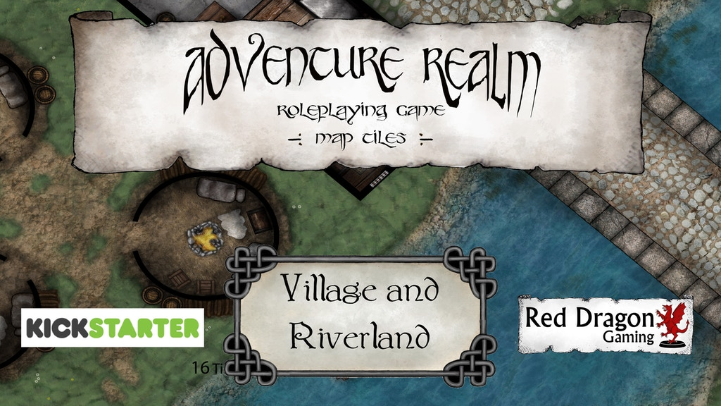 Adventure Realm RPG Tiles - Village and Riverland set project video thumbnail