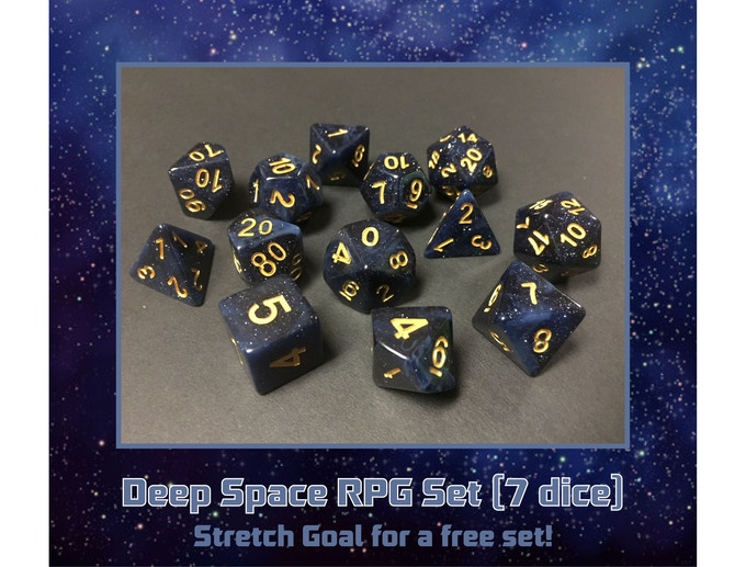 A mix of the Deep Space stretch goal RPG Set