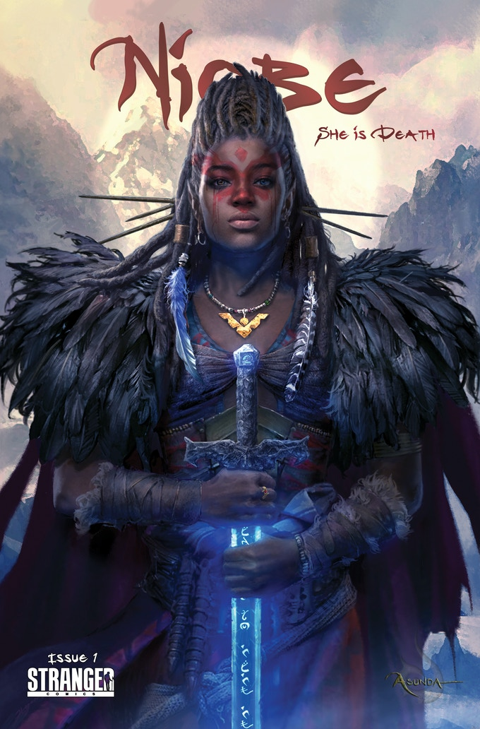 NIOBE She is Death #1 cover by Hyoung