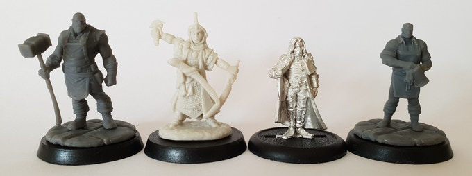 32mm Townsfolk, 28mm Reaper mini, 28mm War Machine, 28mm Townsfolk